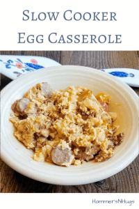 Slow Cooker Egg Casserole Recipe
