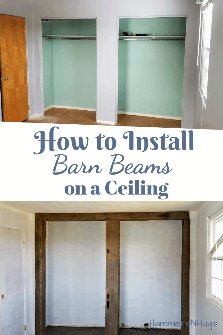 How to Install Barn Beams on a Ceiling