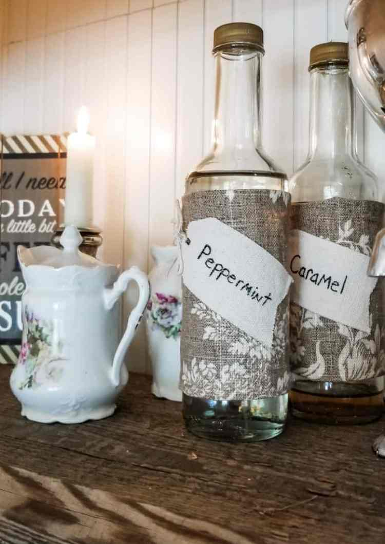 French Country Farmhouse Coffee Bar Reveal