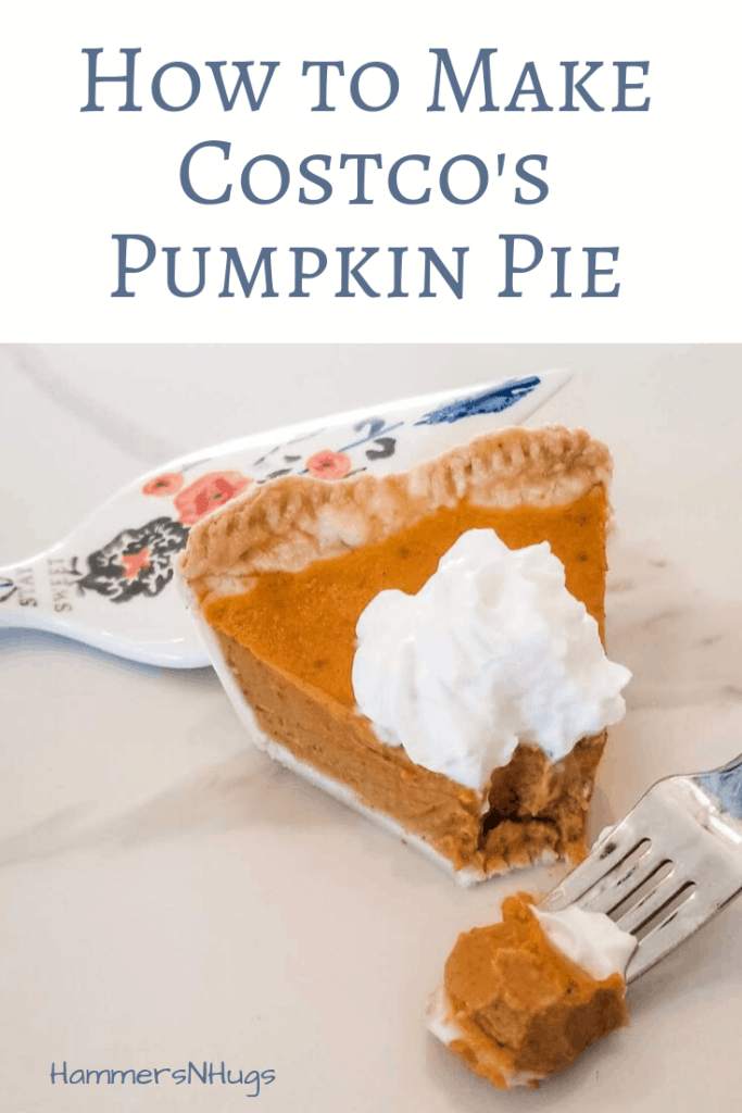 How to Make Costco's Pumpkin Pie