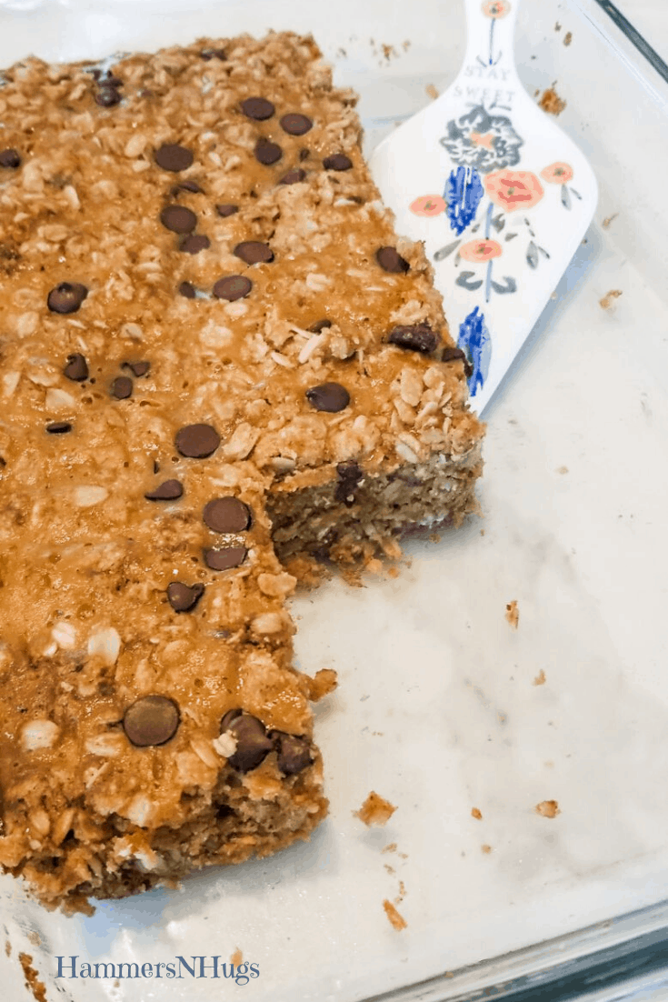 Pumpkin Chocolate Chip Oat Bars REcipe