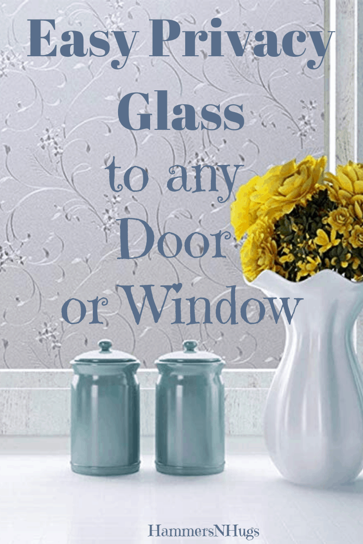 How to Add Easy Privacy Glass to Any Door or Window