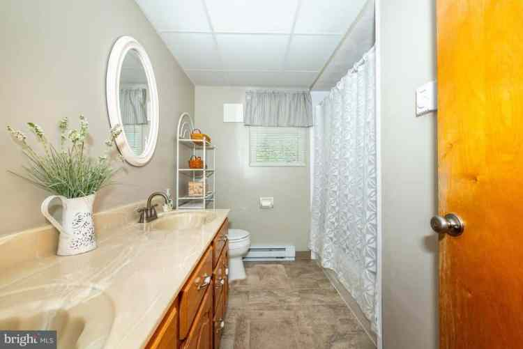 Before and After French Country Cottage Bathroom Renovation