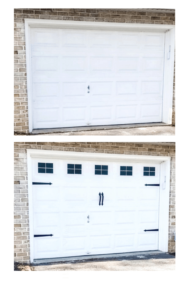 Easy DIY Garage Door Makeover