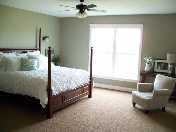 Mint Leaf Master Bedroom