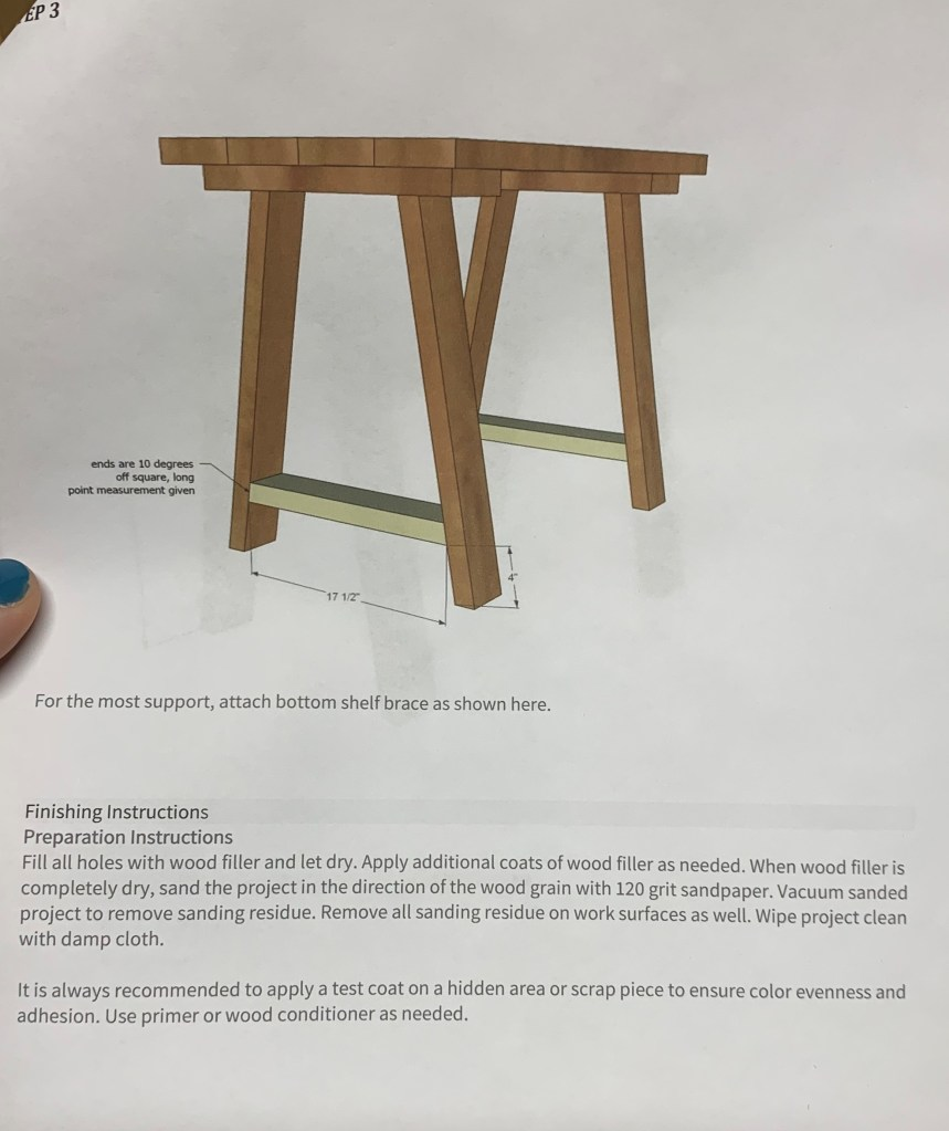 small table desk how to it s hammer time