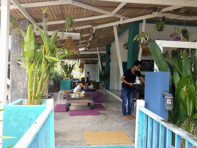 Inside view of karma Cafe