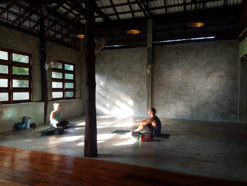 Inside Siam healing centre yoga shala