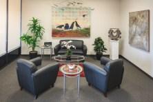 Hammond's reception room.