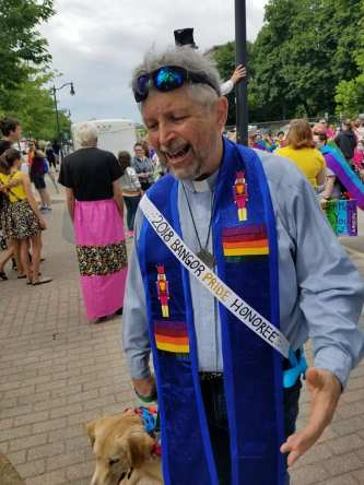 Pastor Greg with Pride