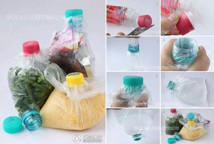 penutup plastik, kerajinan dari botol bekas
