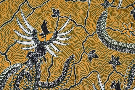 motif cucak rowo, batik tulungagung