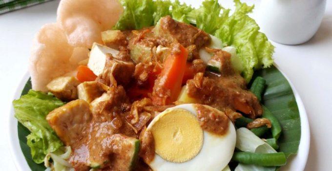 makanan khas tulungagung, gado gado