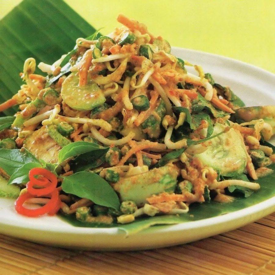 karedok, makanan khas sunda asali