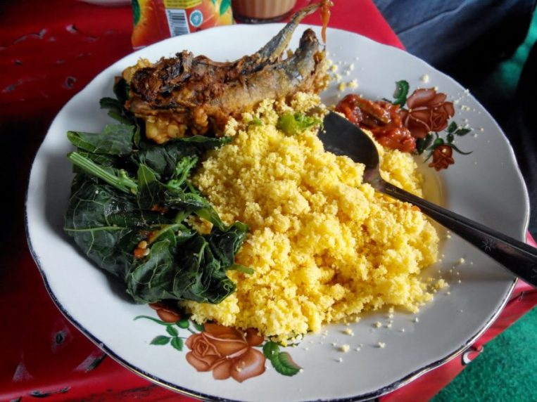 makanan khas blitar, nasi ampok