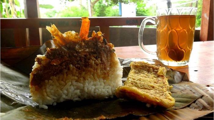 nasi gegog, makanan khas trenggalek