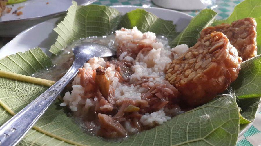 nasi patik, makanan khas tulungagung