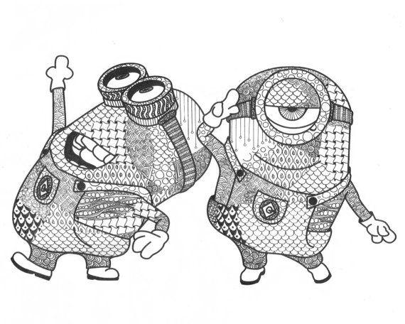 84 Koleksi Gambar Doodle Art Keren Minion HD Terbaru