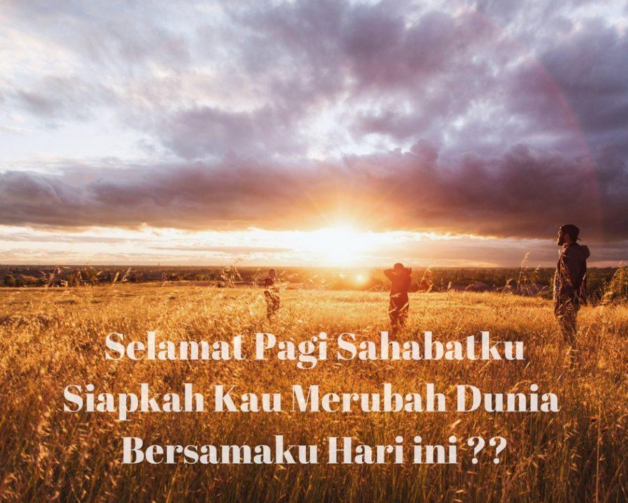80 Ucapan Selamat Pagi Romantis Islami Motivasi Keren