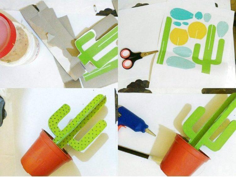 cara membuat kotak pensil dari kardus