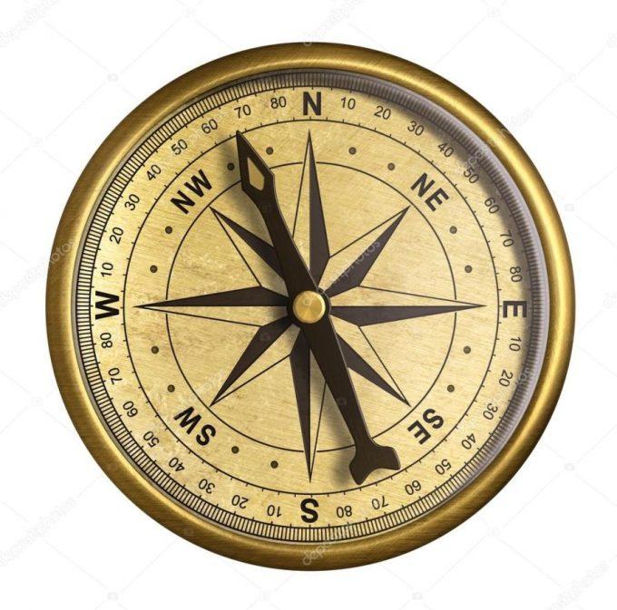 teknik mengukur arah mata angin dengan kompas