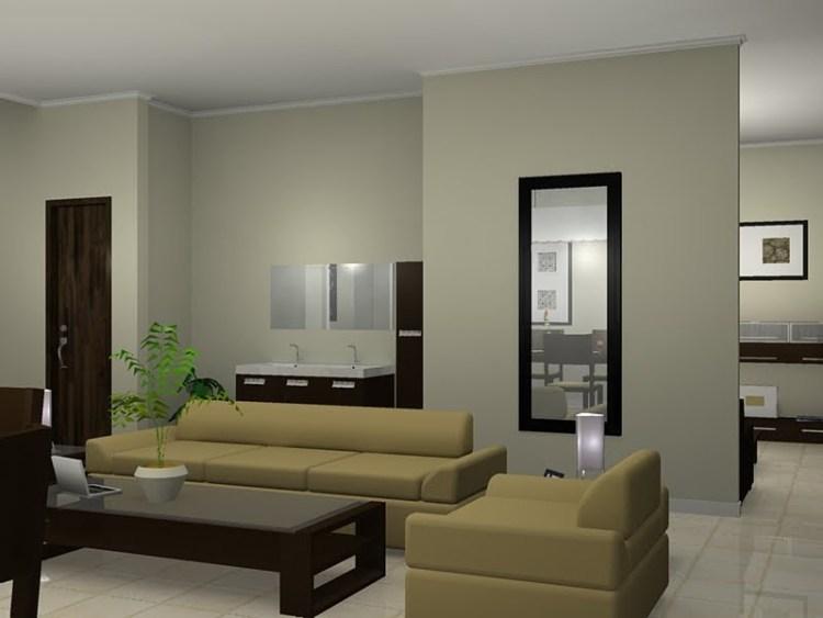 warna cat dinding rumah sederhana dan elegan
