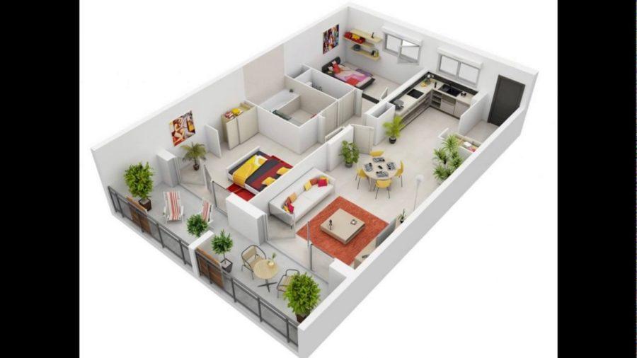 100 Contoh Denah Rumah Minimalis Terisimpel dan Terkeren