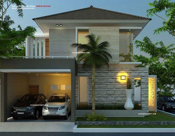 √ 120 Contoh Desain rumah Minimalis (Simpel Modern dan Terbaru 2020)