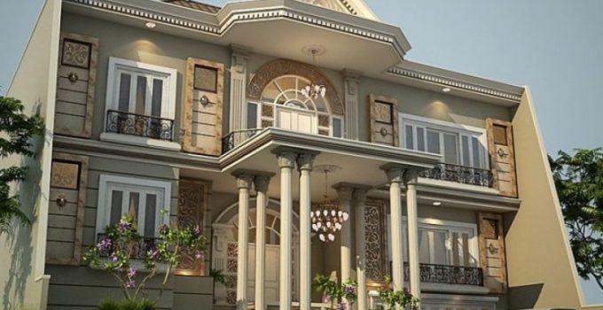 rumah klasik 2 lantai