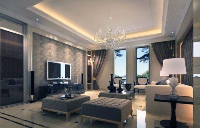 plafon minimalis modern