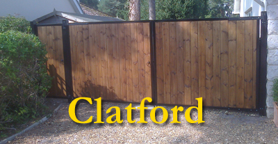 Steel Framed Wooden Driveway Gates Hampshire Gates 01264 210088