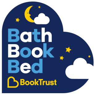 BookTrust logo for Bath Book Bed