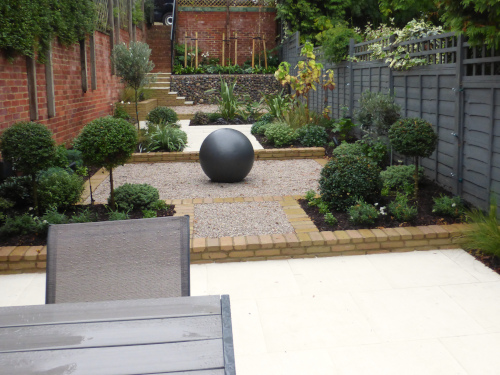 Long Narrow Garden Design London Hampstead Garden Designhampstead Garden Design