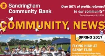 Bendigo Bank, Sandringham Community News