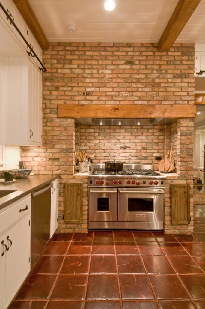 Retro Rustic Kitchen - Hamptons Habitat on Rustic:1Gdhjdx6F3G= Farmhouse Kitchen  id=13299
