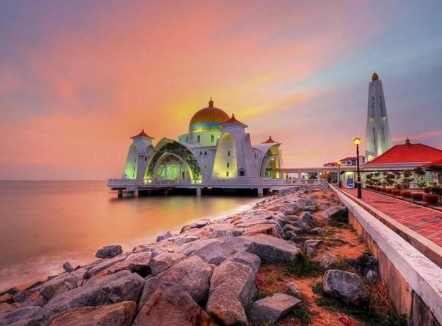 مسجد-ملقا-بماليزيا-6