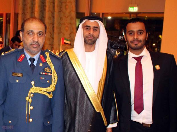 السيد / محمد راشد والكاتب عبد الفتاح حامد