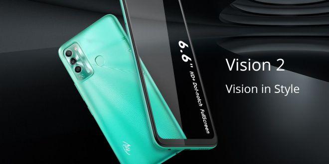 علامة أيتل itel تطلق هاتفين جديدين خصيصا للجمهور الشباب:  Vision 1 Pro وVision2