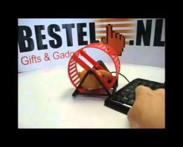 Funny USB Hamster Wheel Gadget - funny usb hamster wheel gadget
