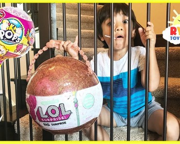 Bad Kid Steals Giant LOL Surprise Big Surprise Doll Limited Edition and go to Jail Pretend Play - bad kid steals giant lol surprise big surprise doll limited edition and go to jail pretend play
