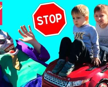 Bad Kids Accident Joker Ride on Power Wheel Range Rover Coca Cola Nursery Rhymes Song Children - bad kids accident joker ride on power wheel range rover coca cola nursery rhymes song children