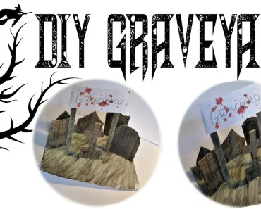 D.I.Y Graveyard For Hamsters | #FrightMonth - d i y graveyard for hamsters frightmonth