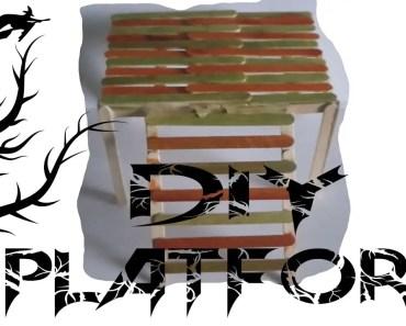 D.I.Y Lollistick Platform For Hamsters - d i y lollistick platform for hamsters