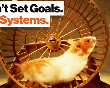 Goal Setting Is a Hamster Wheel. Learn to Set Systems Instead. | Adam Alter - goal setting is a hamster wheel learn to set systems instead adam alter