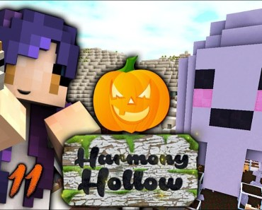 Halloween & Hamster Things | Harmony Hollow Modded SMP - Ep. 11 - halloween hamster things harmony hollow modded smp ep 11