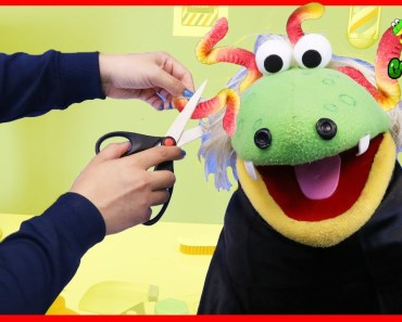 Pretend Play Toys Gus' First Haircut Cutting Hair Learning Toys Funny Video with Gus the Gummy Gator - pretend play toys gus first haircut cutting hair learning toys funny video with gus the gummy gator