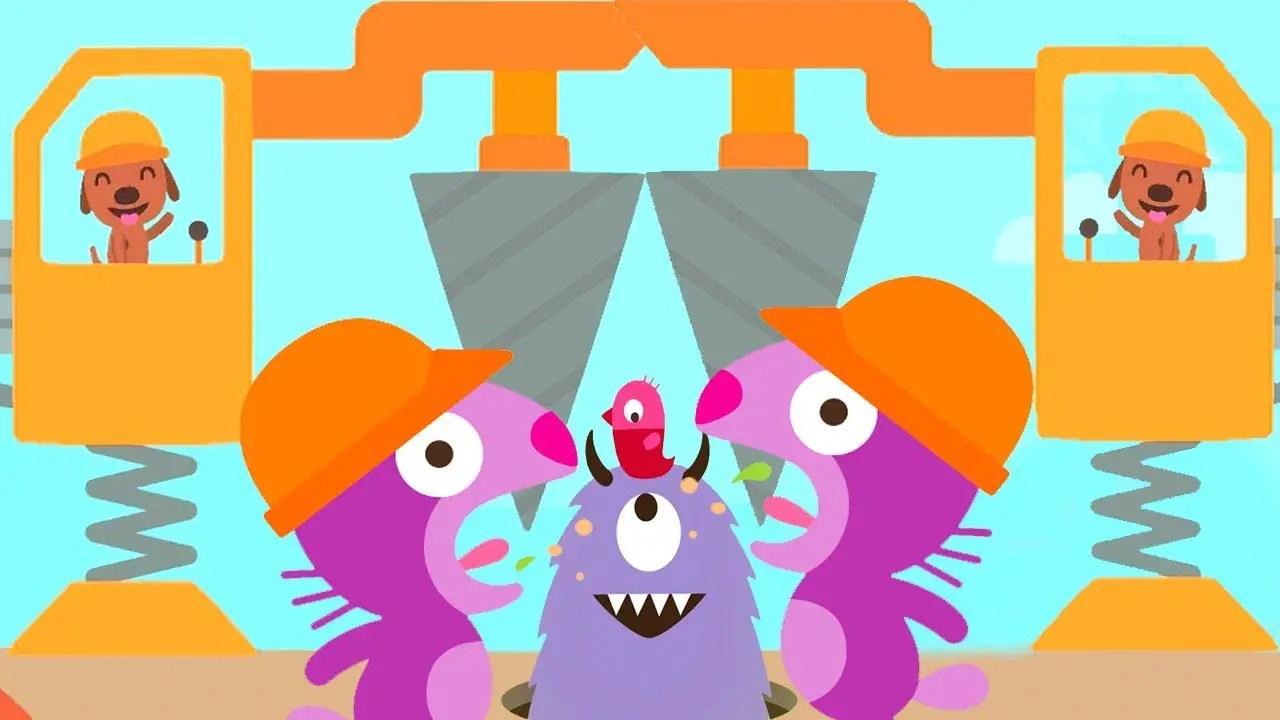 sago mini trucks u0026 diggers kids games funny kids design u0026 build