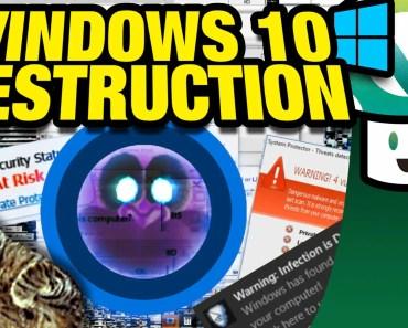 [Vinesauce] Joel - Windows 10 Destruction - vinesauce joel windows 10 destruction