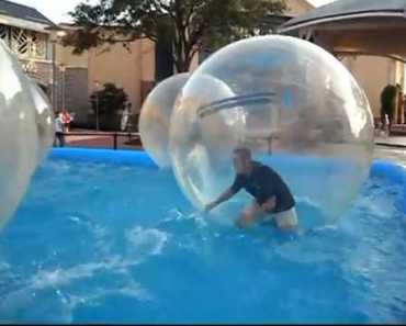Water Walking balloon, human hamster ball,you got to try it! - water walking balloon human hamster ballyou got to try it