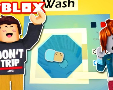 BABY TRAPPED IN WASHING MACHINE! Roblox Funny Moments! Roblox Laundromat - baby trapped in washing machine roblox funny moments roblox laundromat